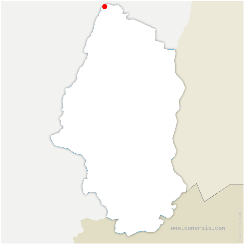 carte de localisation de Rombach-le-Franc