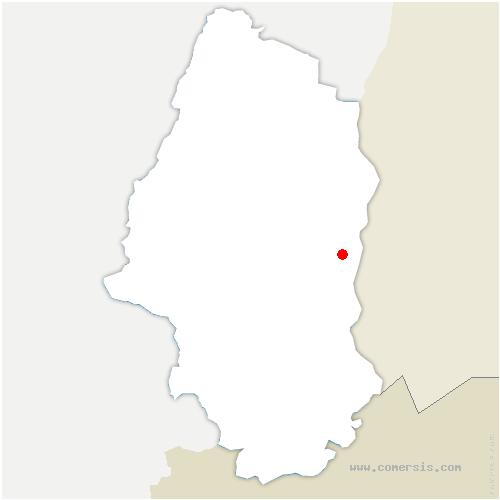 carte de localisation de Rumersheim-le-Haut