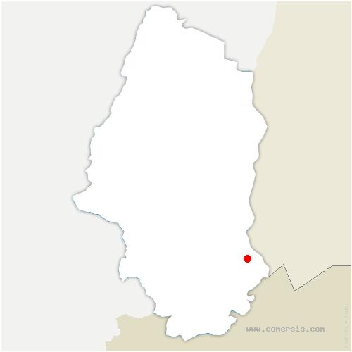 carte de localisation de Saint-Louis