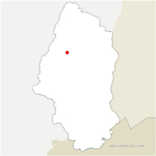 carte de localisation de Soultzbach-les-Bains