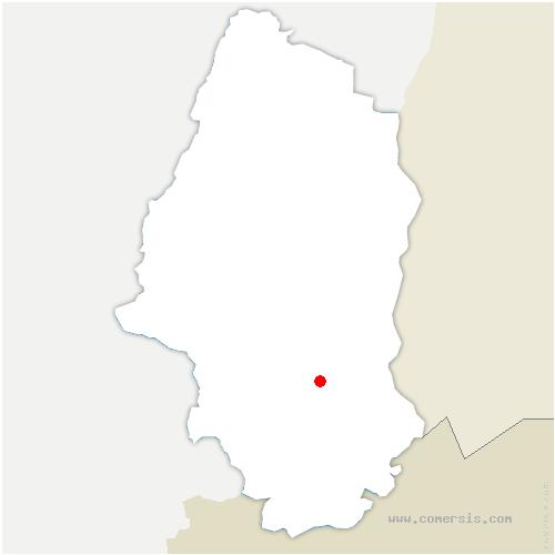 carte de localisation de Steinbrunn-le-Bas