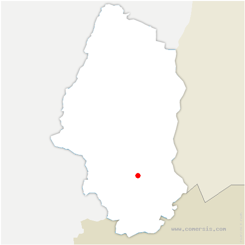 carte de localisation de Steinbrunn-le-Haut