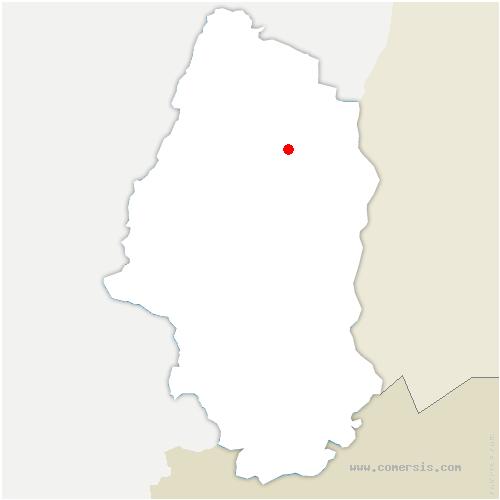 carte de localisation de Sundhoffen