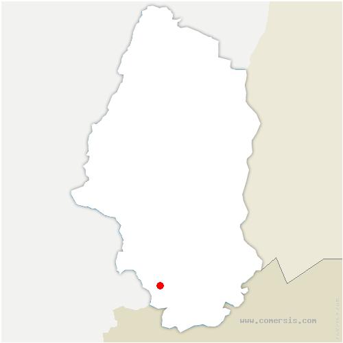 carte de localisation de Ueberstrass