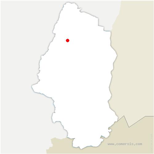 carte de localisation de Walbach
