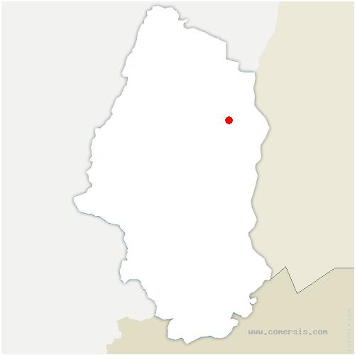 carte de localisation de Weckolsheim