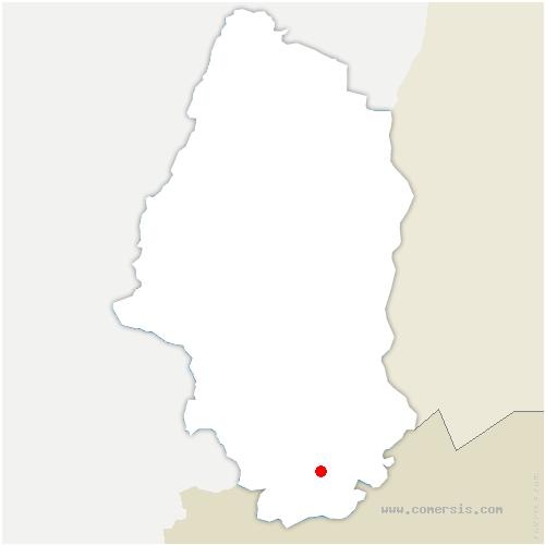 carte de localisation de Werentzhouse
