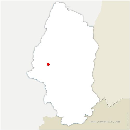 carte de localisation de Willer-sur-Thur