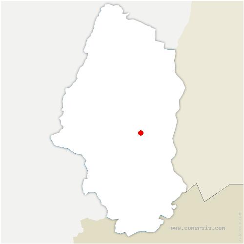 carte de localisation de Wittenheim