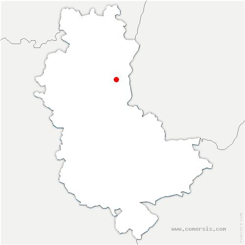 carte de localisation de Blacé