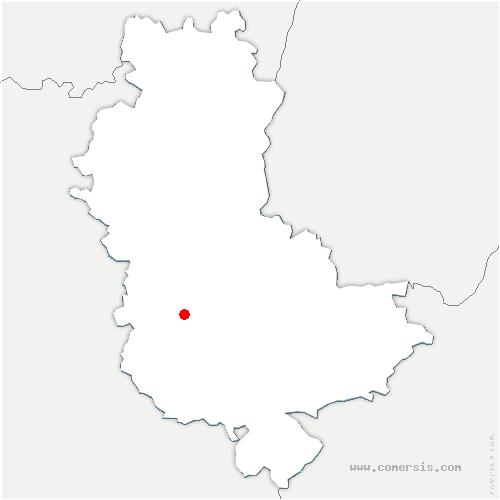 carte de localisation de Brullioles