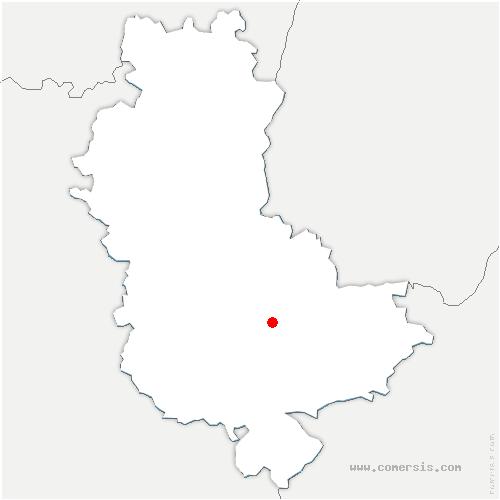 carte de localisation de Craponne