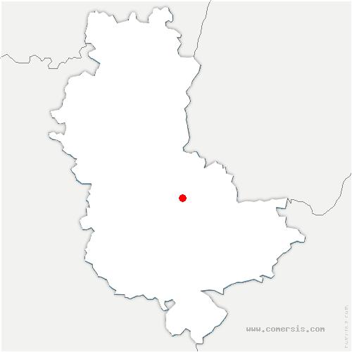 carte de localisation de Dardilly