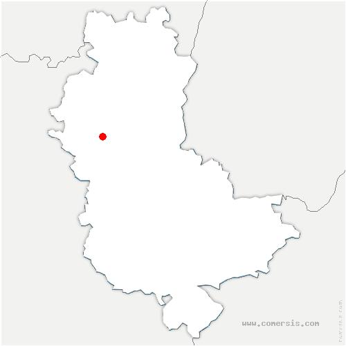 carte de localisation de Dième