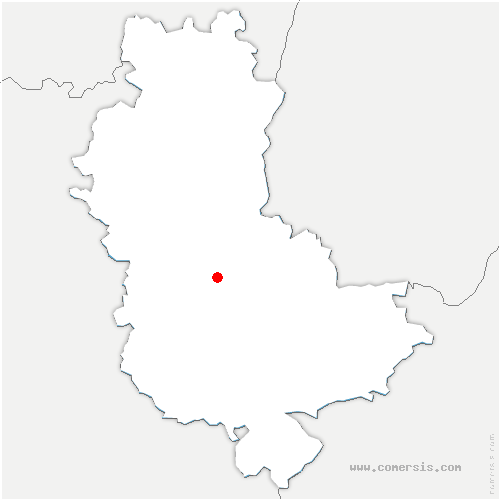 carte de localisation de Fleurieux-sur-l'Arbresle