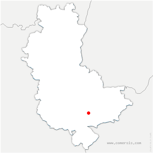 carte de localisation de Irigny