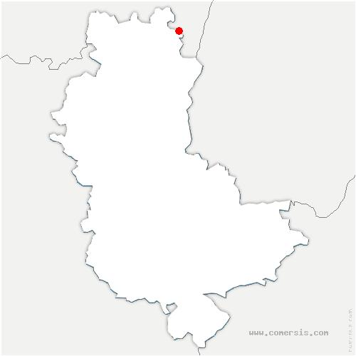 carte de localisation de Juliénas