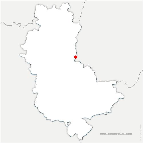 carte de localisation de Limas