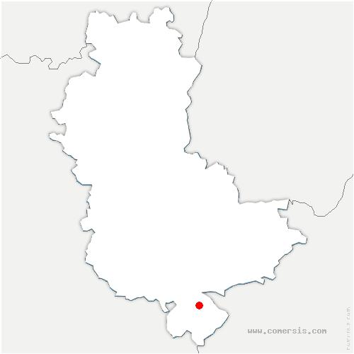 carte de localisation de Loire-sur-Rhône