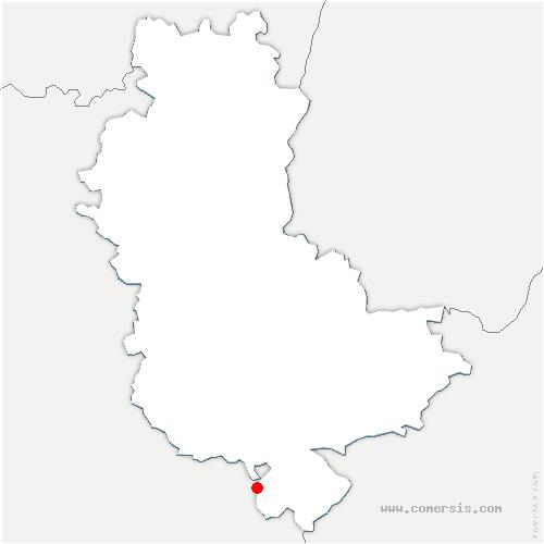 carte de localisation de Longes