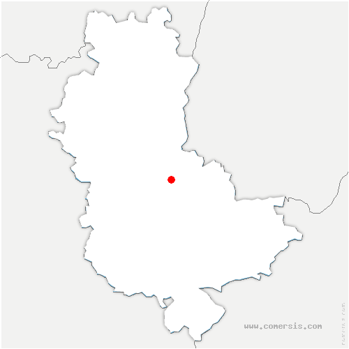 carte de localisation de Lozanne