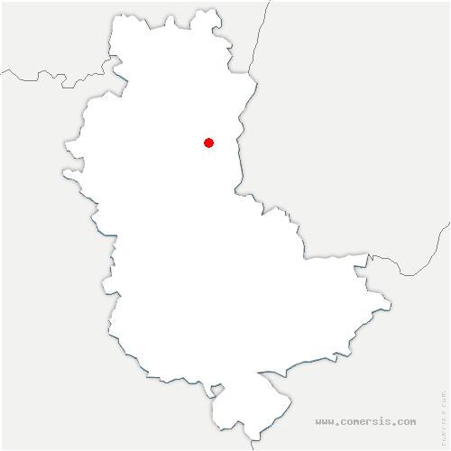 carte de localisation de Lyon 3e arrondissement