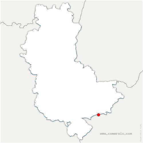carte de localisation de Marennes