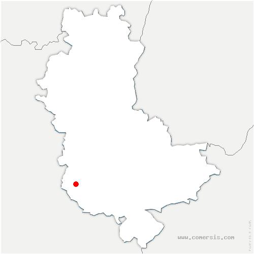 carte de localisation de Meys