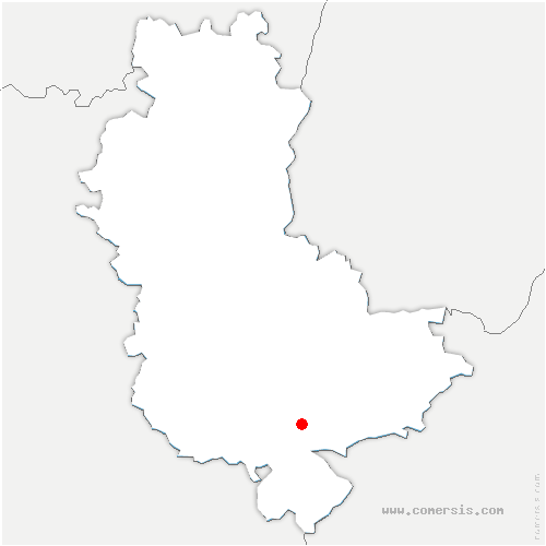 carte de localisation de Montagny