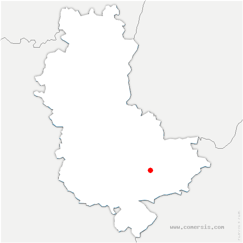 carte de localisation de Pierre-Bénite