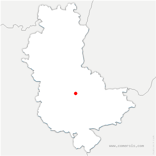 carte de localisation de Pollionnay