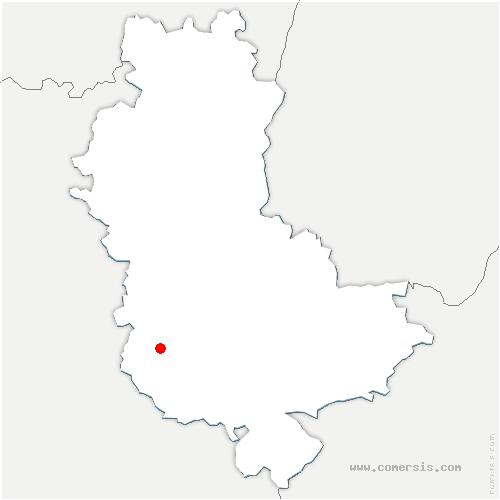 carte de localisation de Souzy