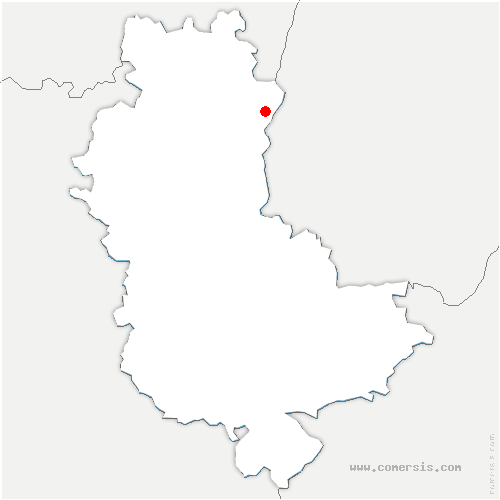 carte de localisation de Taponas