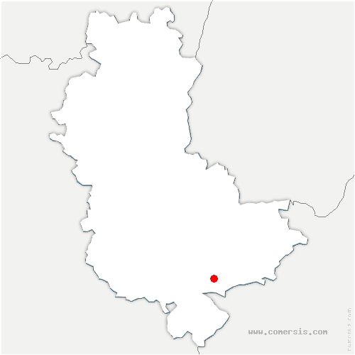 carte de localisation de Ternay