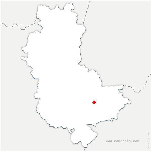 carte de localisation de Vénissieux