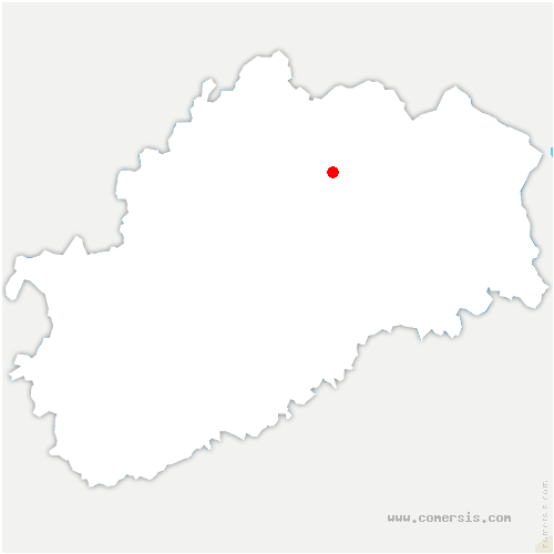 carte de localisation de Abelcourt