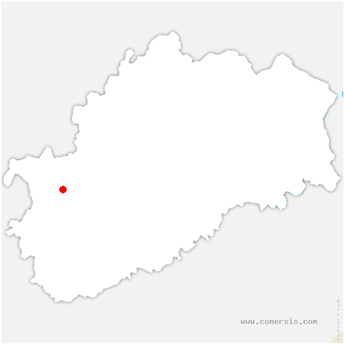 carte de localisation de Achey