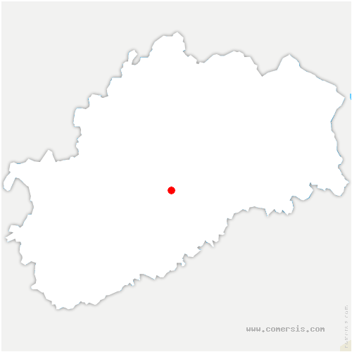 carte de localisation de Andelarre