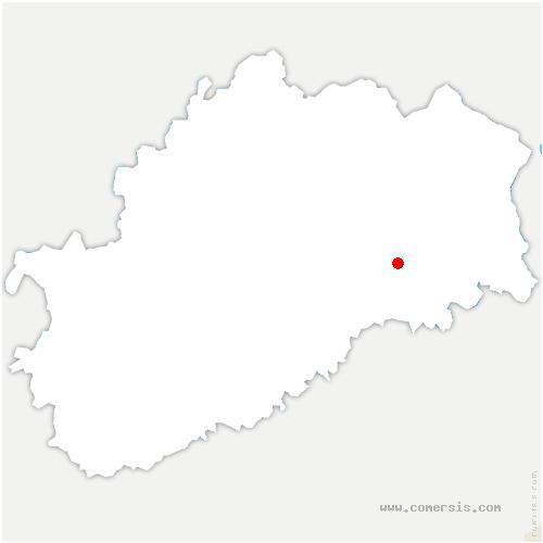 carte de localisation de Arpenans
