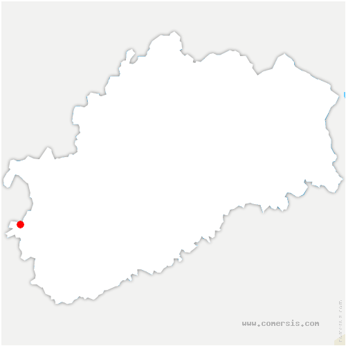 carte de localisation de Attricourt