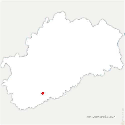carte de localisation de Autoreille