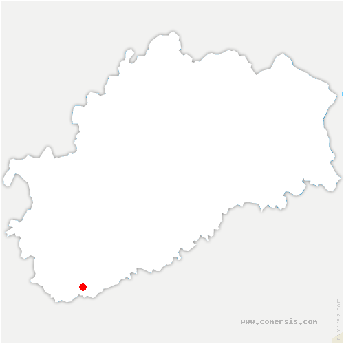 carte de localisation de Bay