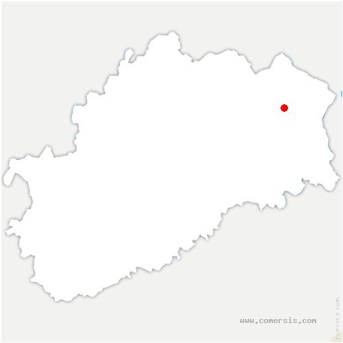 carte de localisation de Belonchamp