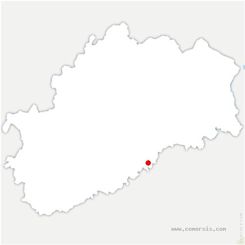 carte de localisation de Besnans