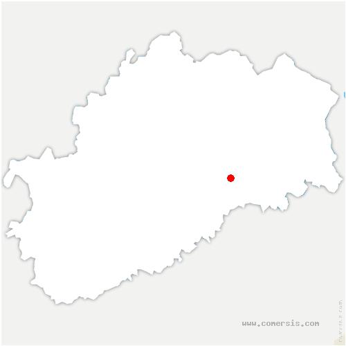 carte de localisation de Borey
