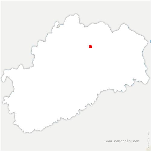 carte de localisation de Briaucourt
