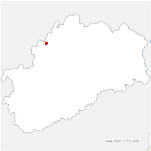 carte de localisation de Cemboing