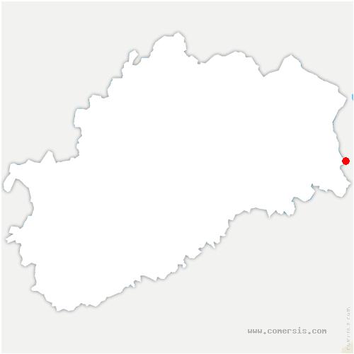 carte de localisation de Châlonvillars