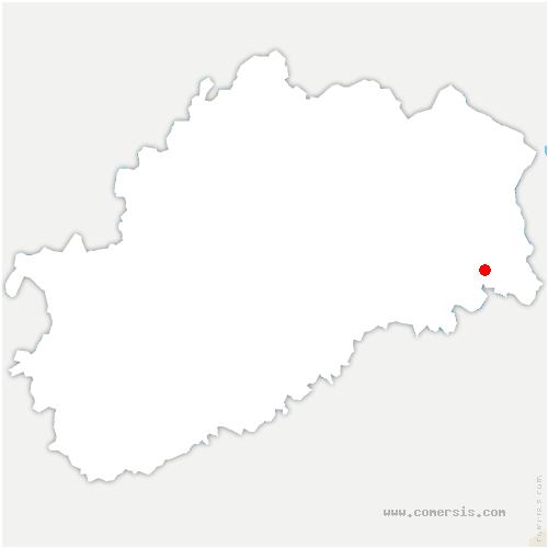 carte de localisation de Champey