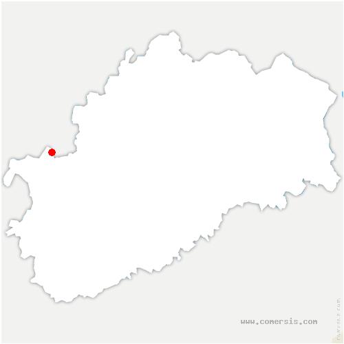 carte de localisation de Champlitte